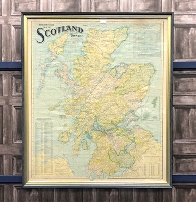 Lot 18-SCARBOROUGH''S MAP OF SCOTLAND