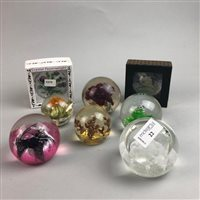 Lot 22-A COLLECTION OF CAITHNESS AND OTHER PAPERWEIGHTS