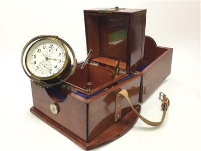 Lot 1420-A RUSSIAN SOVIET-ERA MOVET CHRONOMETER
