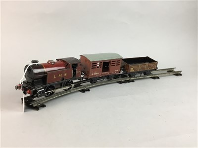 Lot 26-A HORNBY MECCANO TRAIN SET, ACTION MAN FIGURES AND OTHER MODEL VEHICLES