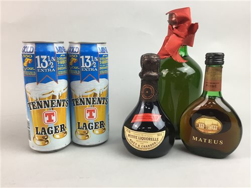 Lot 25-A COLLECTION OF VINTAGE ALCOHOL OBJECTS