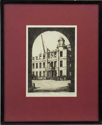 Lot 702-AN ETCHING BY WILFRED CRAWFORD APPLEBY