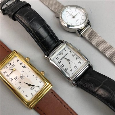 Lot 31-A LOT OF THREE LADY'S WATCHES