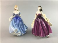 Lot 33-A LOT OF TWO BOXED ROYAL DOULTON LADIES