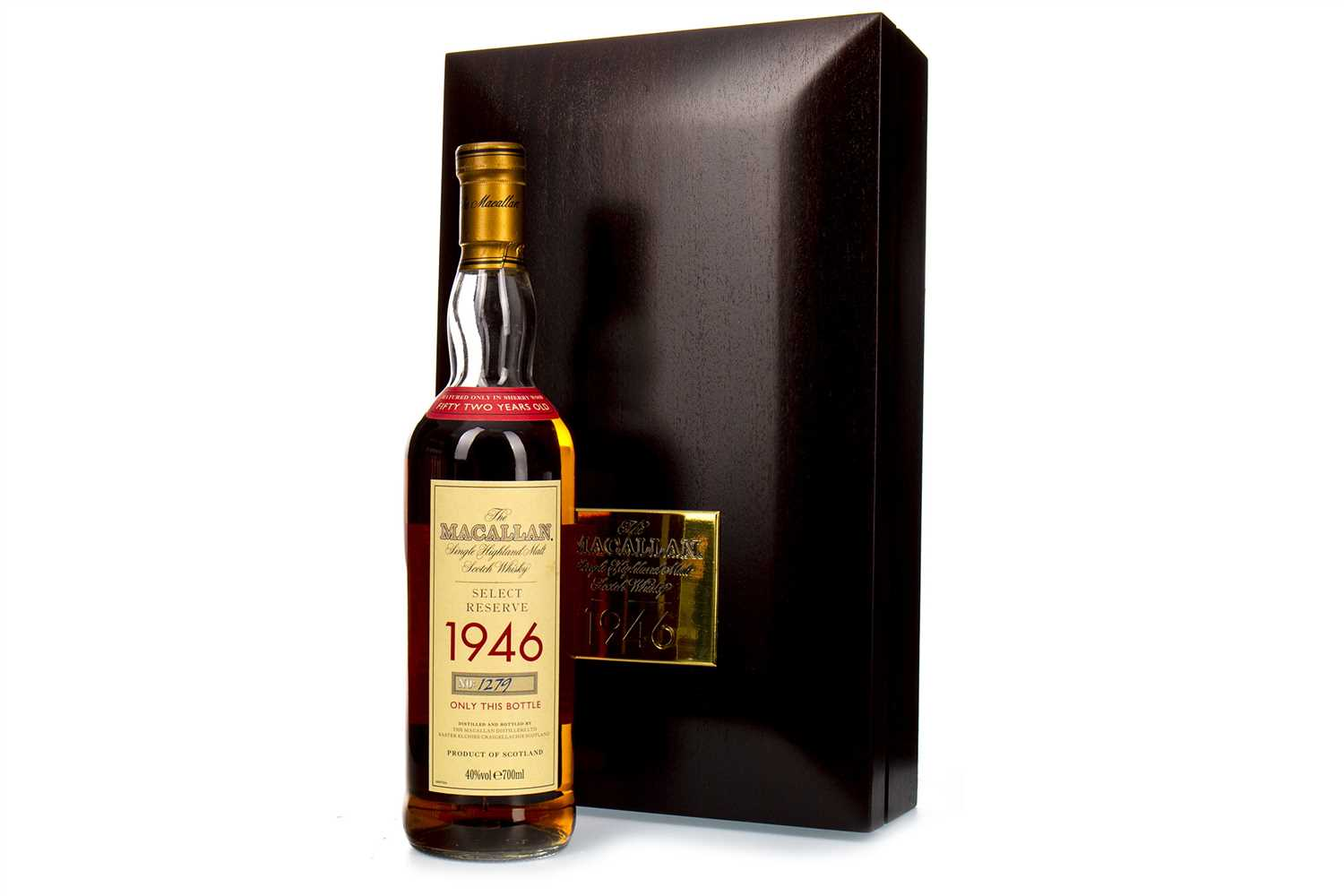 Lot 50-MACALLAN 1946 SELECT RESERVE 52 YEARS OLD
