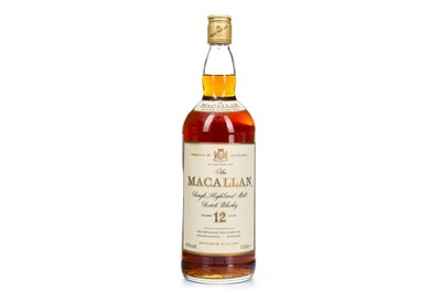 Lot 12-MACALLAN 12 YEARS OLD - ONE LITRE