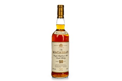 Lot 20-MACALLAN 10 YEARS OLD