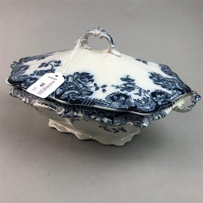 Lot 39-A GROUP OF VARIOUS BLUE AND WHITE CERAMICS