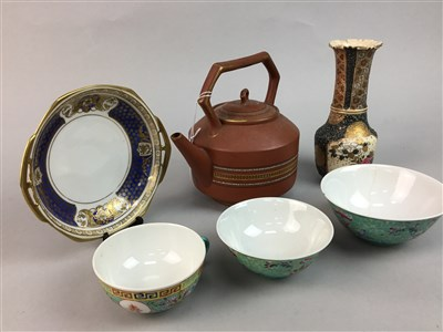 Lot 40-A COLLECTION OF CHINESE AND OTHER CERAMICS