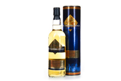Lot 9-BUNNAHABHAIN 1990 COOPERS CHOICE AGED 24 YEARS