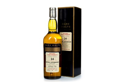 Lot 21-ROYAL LOCHNAGAR 1974 RARE MALTS AGED 24 YEARS
