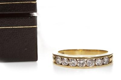 Lot 113-A DIAMOND HALF ETERNITY RING