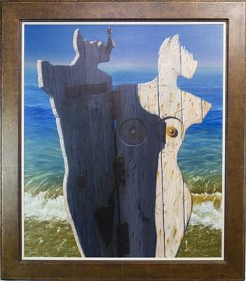 Lot 553-CATALONIAN ROMANCE, AN OIL BY GORDON K MITCHELL