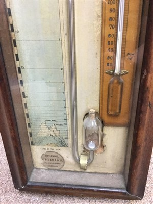 Lot 1424-A 19TH CENTURY FITZROY BAROMETER