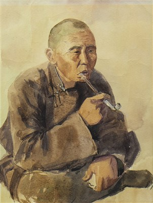 Lot 439-THE OPIUM SMOKER