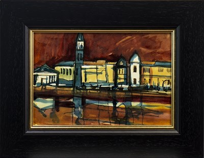 Lot 593-VENICE, A WATERCOLOUR BY JAMIE O'DEA