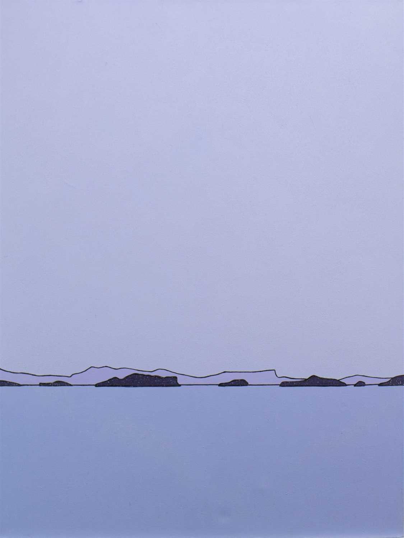 Lot 527-DUSK, SUMMER ISLES, AN OIL BY IAIN CARBY