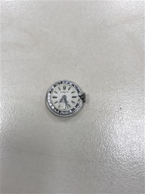 Lot 818-A LADY'S ROLEX PRECISION DIAMOND SET WATCH