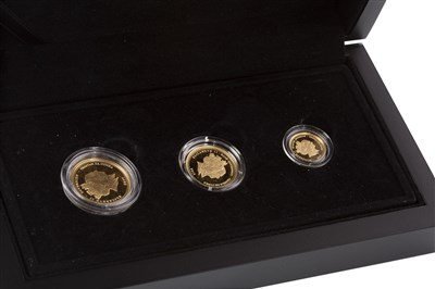 Lot 508 - A HATTONS OF LONDON THREE COIN SET