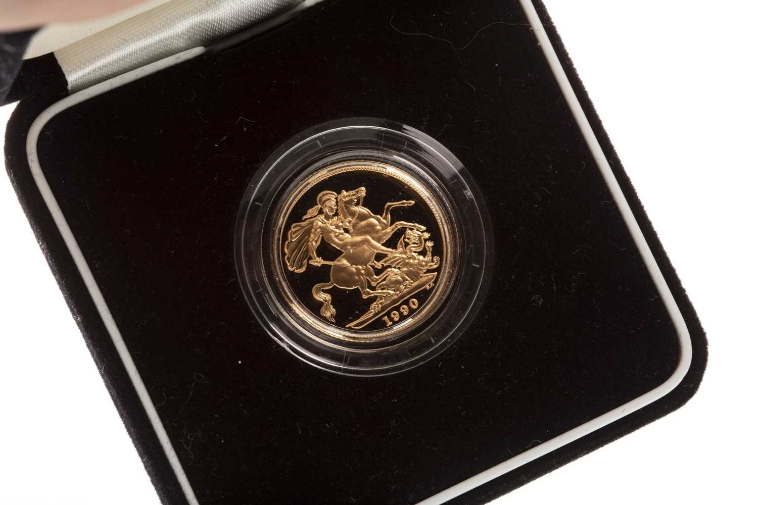 Lot 512-A THE ROYAL MINT 1990 PROOF SOVEREIGN