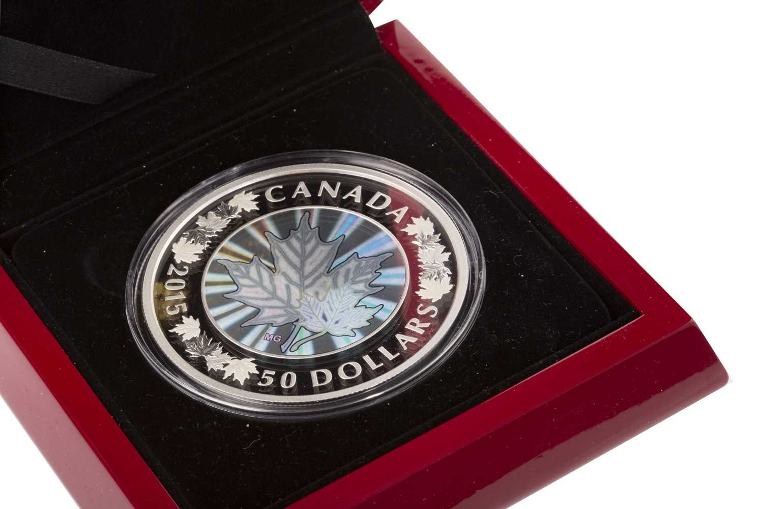 Lot 513-A THE ROYAL CANADIAN MINT SILVER PROOF COIN