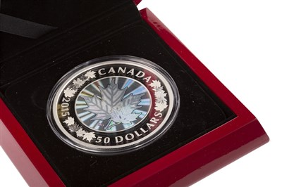 Lot 513 - A THE ROYAL CANADIAN MINT SILVER PROOF COIN