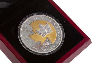 Lot 516 - A THE ROYAL CANADIAN MINT 2013 5-OUNCE SILVER COIN