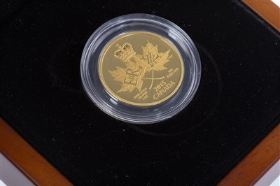 Lot 518 - A THE ROYAL CANADIAN MINT 2015 $200 GOLD COIN