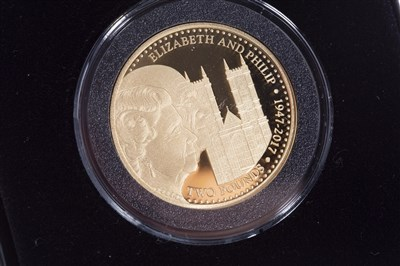 Lot 526-A JUBILEE MINT GOLD £2 COIN