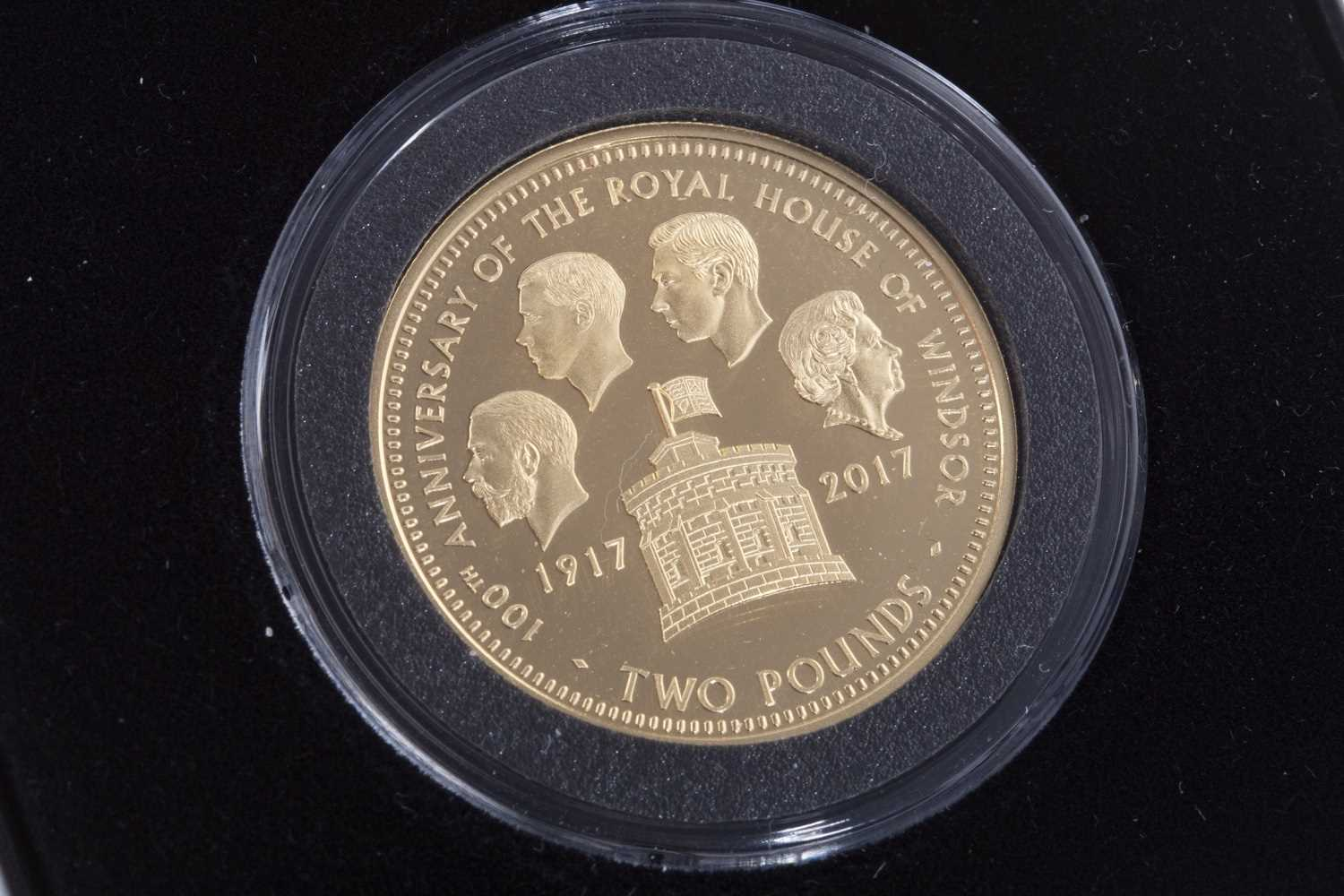 Lot 527-A JUBILEE MINT GOLD PROOF £2 COIN
