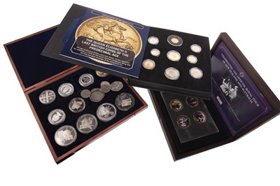 Lot 528-A COLLECTION OF VARIOUS SILVER AND OTHER COINS