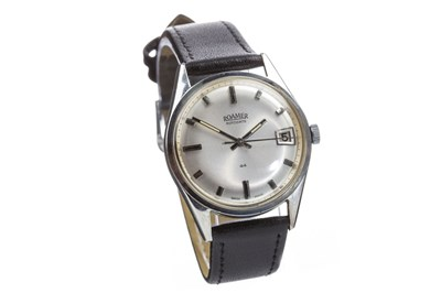 Lot 820-A GENTLEMAN'S ROAMER ROTODATE WRIST WATCH