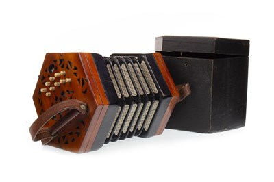 Lot 1407-A LACHENAL & CO 21 BUTTON CONCERTINA