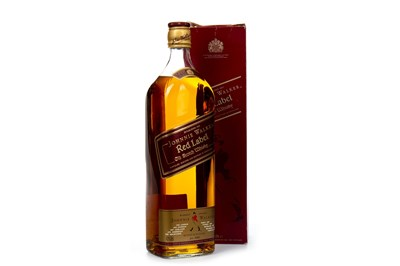 Lot 401-JOHNNIE WALKER RED LABEL - ONE LITRE