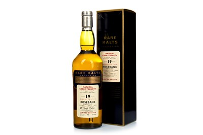 Lot 19-ROSEBANK 1979 RARE MALTS AGED 19 YEARS