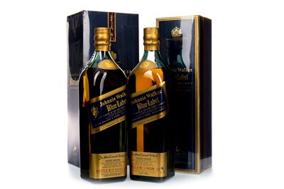Lot 26-TWO BOTTLES OF JOHNNIE WALKER BLUE LABEL