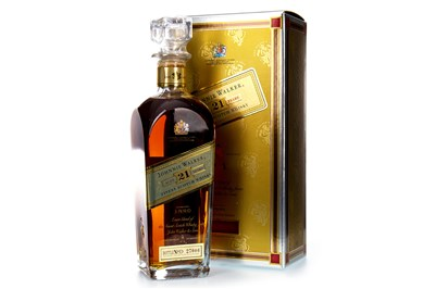Lot 24-JOHNNIE WALKER AGED 21 YEARS
