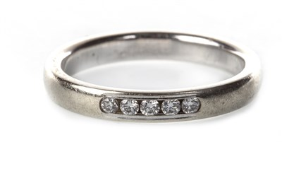 Lot 37-A DIAMOND SET BAND