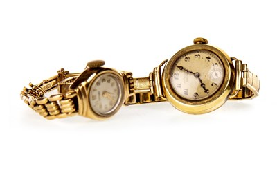 Lot 825-TWO LADY'S 20TH CENTURY WRIST WATCHES