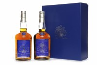 Lot 1008-SEAGRAM 25 YEAR CLUB - AGED 25 YEARS (2) Blended...