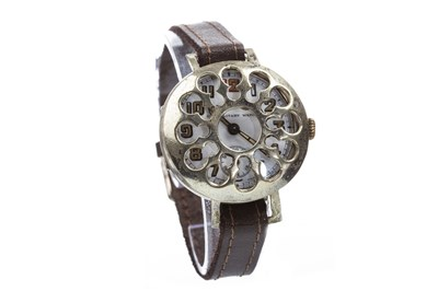 Lot 828-A SILVER TRENCH WATCH
