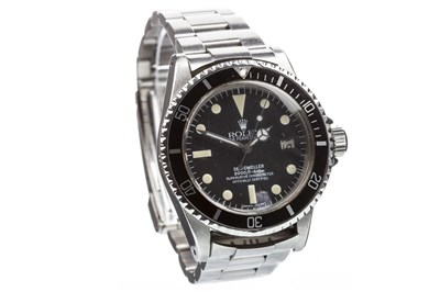 Lot 752 - A GENTLEMAN'S 1970s ROLEX SEA-DWELLER STEEL WATCH