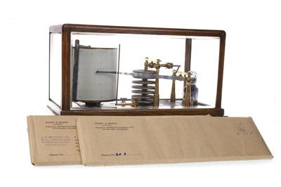 Lot 1428-A EDWARDIAN BAROGRAPH by GRANT of LEITH
