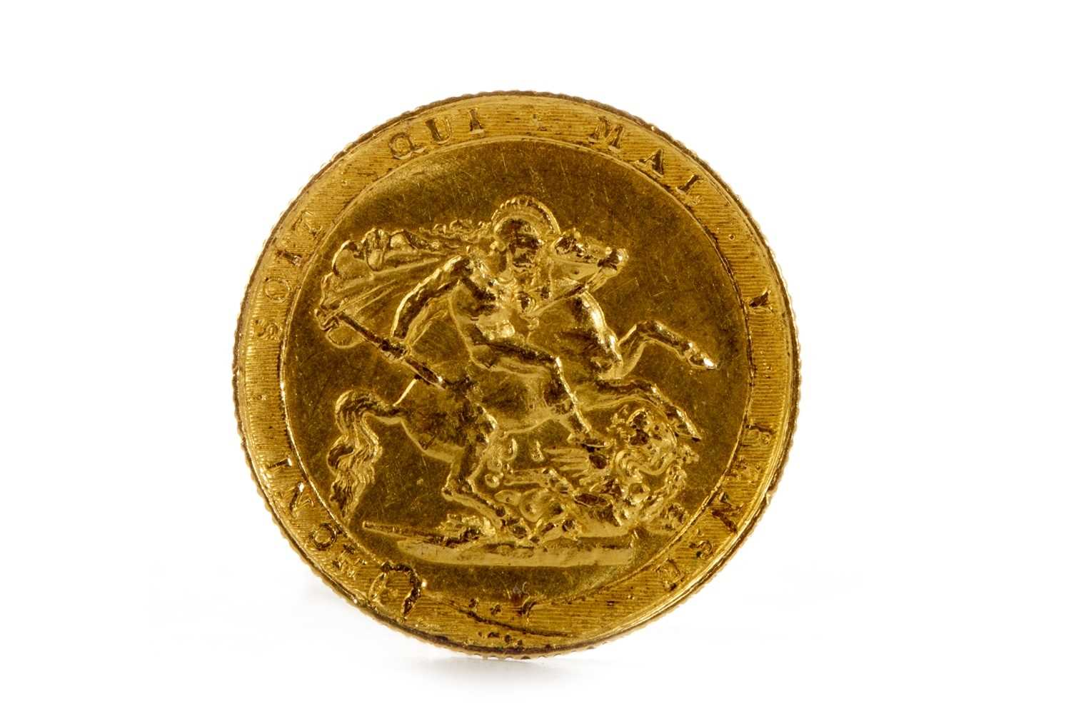 Lot 534-A GOLD SOVEREIGN, 1818