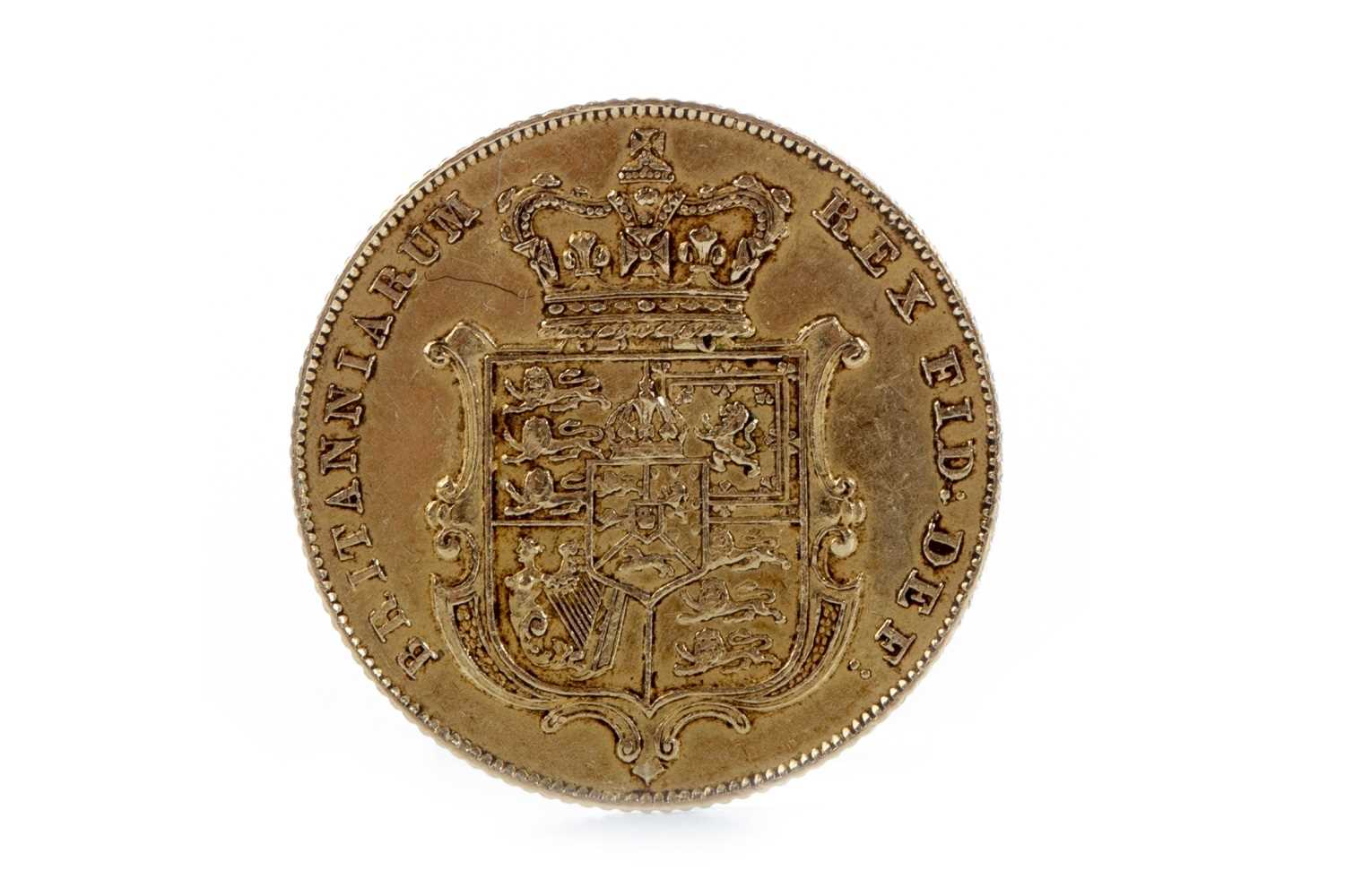 Lot 533 - A GOLD SOVEREIGN, 1826