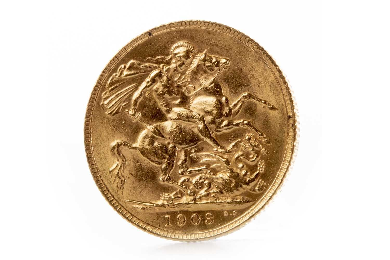 Lot 542 - A GOLD SOVEREIGN, 1903