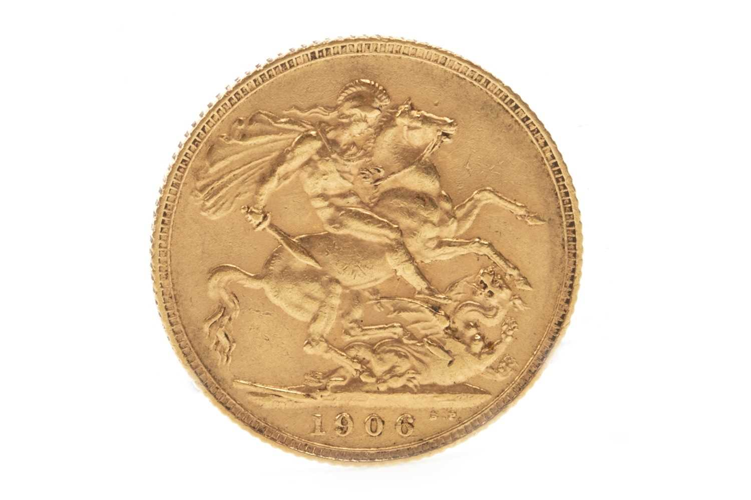 Lot 543 - A GOLD SOVEREIGN, 1906