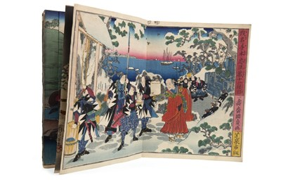 Lot 1009-AN EARLY 20TH CENTURY JAPANESE WOODBLOCK PRINT VOLUME