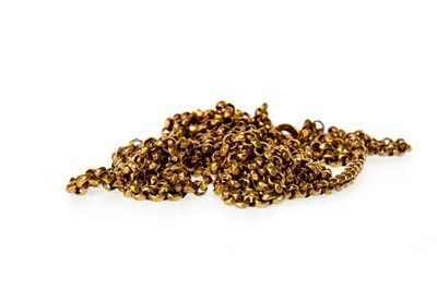 Lot 847-A GOLD PLATED GUARD CHAIN