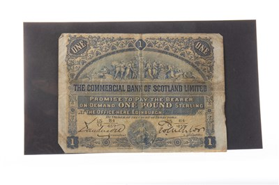 Lot 561-A THE COMMERCIAL BANK OF SCOTLAND LIMITED £1 1896